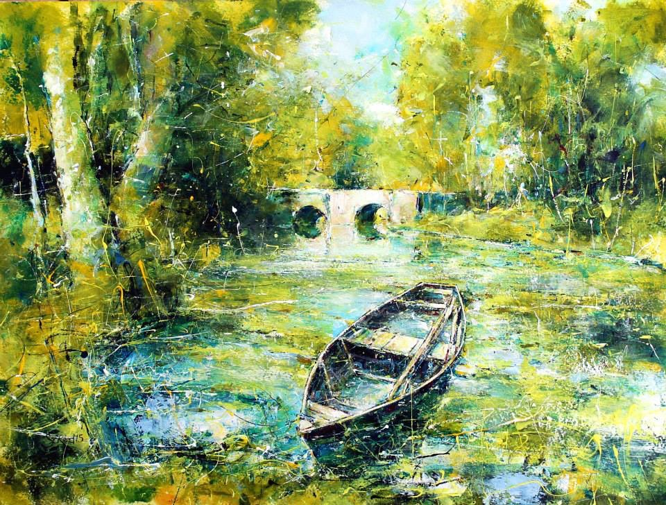 Summer on the Dordogne
